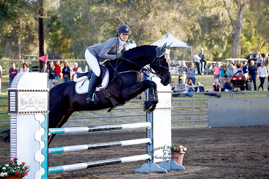 Jordan Linstedt and Staccato. Photo by Captured Moment Photography.